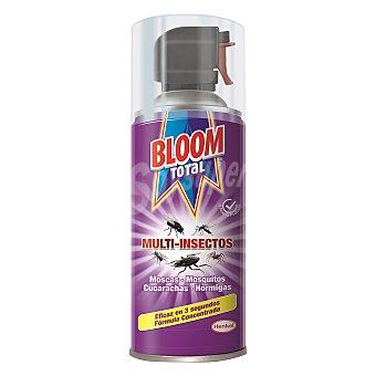 Bloom Total multi-insectos insecticida volador para moscas mosquitos cucarachas y hormigas  spray 400 ml