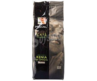 Mmm Auchan Café molido de origen Kenia 250 Gramos