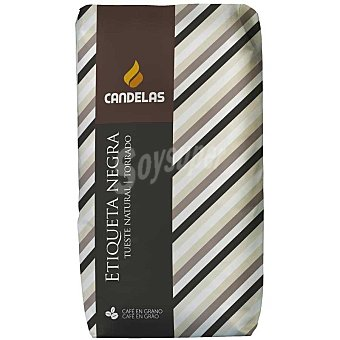 Candelas Etiqueta negra cafe en grano natural paquete 500 g Paquete 500 g