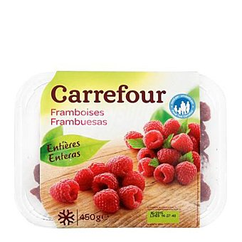 Carrefour Frambuesas congeladas 450 g