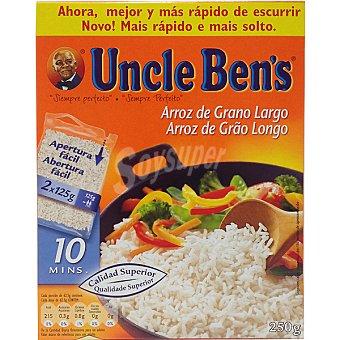 Uncle Ben's Arroz vaporizado de cocción rápida Caja 250 g
