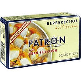 Patrón Berberecho gran selección 30/40 piezas Lata 63 g