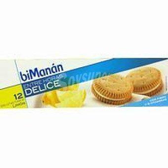 Bimanan Galleta de limón Caja 12 unid