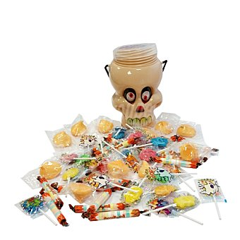 Top Candy Caramelo calavera halloween 350 g