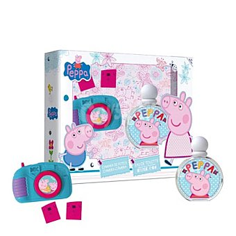 Peppa Pig Estuche colonia spray 50 ml. + Cámara 1 ud