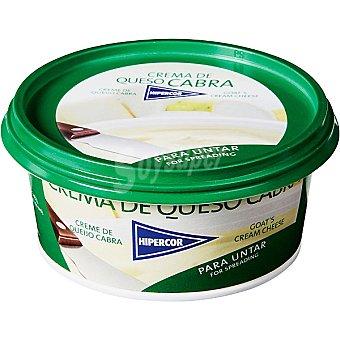 Hipercor Crema de queso de cabra Tarrina 125 g