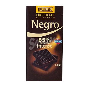 Hacendado Chocolate negro intenso (85% cacao) Tableta 100 g