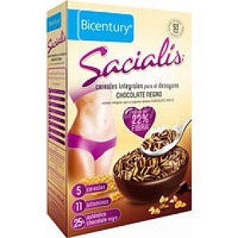 SACIALIS Cereales Chocolate Negro paquete 200 gr