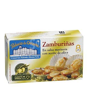 Palacio de Oriente Zamburiñas en salsa marinera con aceite de oliva 60 g