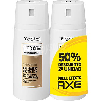 Axe Desodorante Dry Signature Black & White pack 2 spray 150 ml Pack 2 spray 150 ml