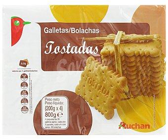 Auchan Galletas tostadas 800 gr