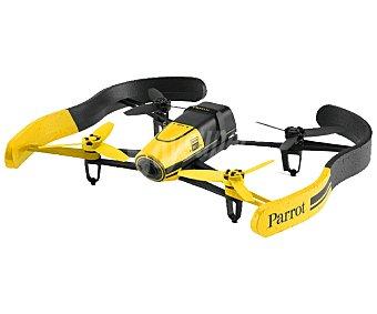 PARROT BEBOP Drones con pilotaje intuitivo viendo el recorrido en primera persona a través de la pantalla de tu dispositivo móvil, Amarillo, control fpv, uso interior y exterior, visión 180°, cámara 14 Mpx, video Full HD, hasta 13 m/s de velocidad, gps, conexión con Wi-Fi.