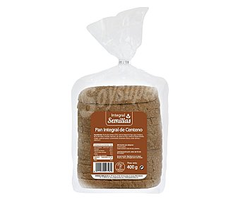 Pan Integral Semillas con Centeno 400 g