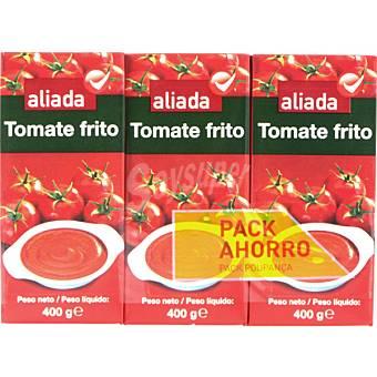 Aliada Tomate frito Pack 3 envases 400 g
