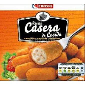 Eroski Croquetas caseras de cocido Bolsa 500 g