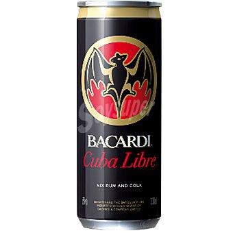 Bacardi Cuba libre  lata 33 cl