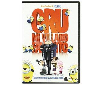 ANIMACIÓN Película en DVD Gru, mi villano favorito. Género: Animación. TP