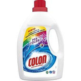 Colón Detergente líquido mix color Botella 50 dosis