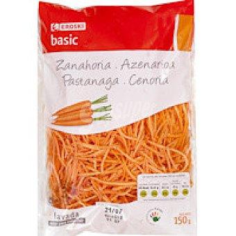 Eroski Zanahoria rallada Bolsa 150 g