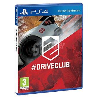 PS4 Videojuego Driveclub  1 Unidad