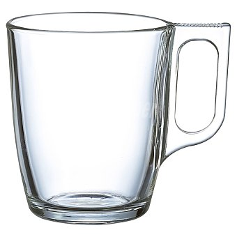 LUMINARC Breakfast Mug de vidrio transparente 25 cl