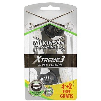 Wilkinson Maquinilla Xtreme 3 Sensitive 6 unidades