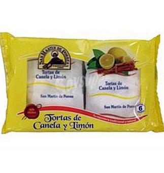 Porres Torta canela limon 6 UNI