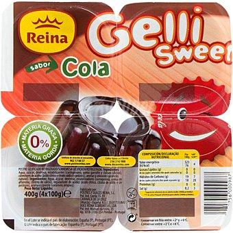 REINA Gelatina de cola pack 4 unidades 100 g
