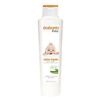 Babaria Jabón líquido muy suave Aloe Baby 600 ml