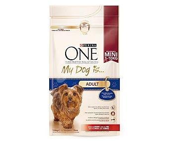 One Purina Comida para perros My Dog Buey y Arroz 1,5 kg