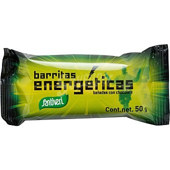 Santiveri Barritas energéticas bañadas en chocolate envase 50 g