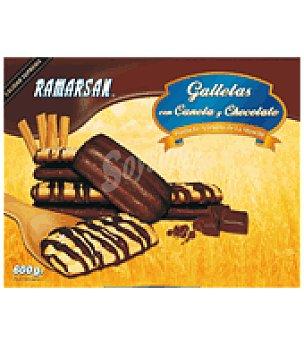 Ramarsan Galletas con canela y chocolate 600 g
