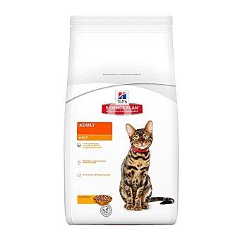 Pienso especial para gatos adultos 1-6 años con pollo bolsa 1,5 kg para ayudar a mantener el peso ideal