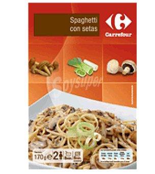 Carrefour Spaguetti con setas 170 g