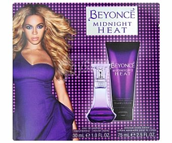Beyoncé Estuche Midnight Heat Woman: Eau de Toilette 30ml + loción corporal 75ml 1 Unidad