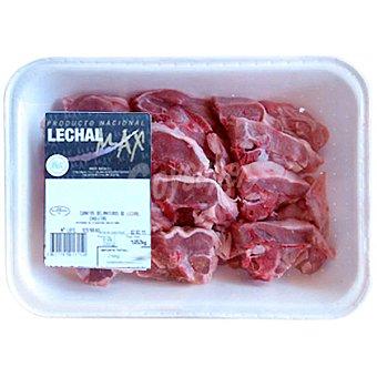 Lechalmax Cordero lechal chuletas peso aproximado Bandeja 500 g