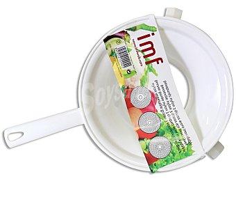 IMF Pasa puré de nylon, con 3 discos intercambiables con diferentes tamaños de corte de acero inoxidable 1 Unidad