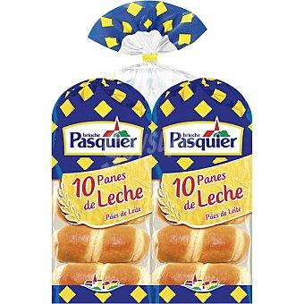 Pasquier pan de leche paquete 700 g formato ahorro 20 unidades