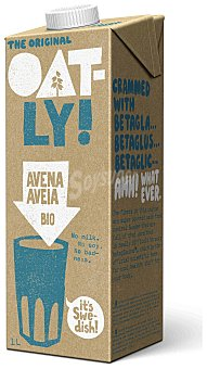 OATLY Bebida de avena ecológica Brik 1 l