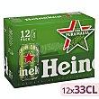 Cerveza Pack de 12 latas de 33 centilitros Heineken