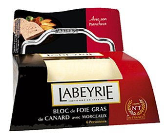 LABEYRIE Bloc de foie grass de oca 30% con trozos 190 gramos