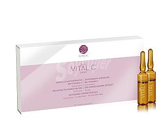 SEGLE Ampollas antiedad para cara y cuello Vita C 10u