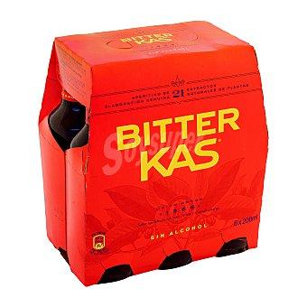 Bitter Kas Refresco sin alcohol Pack de 6 x 20 cl