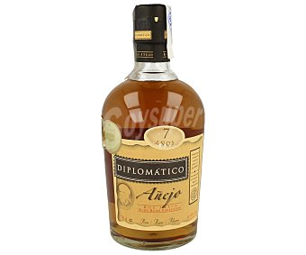 DIPLOMATICO Ron añejo dorado Botella de 70 cl
