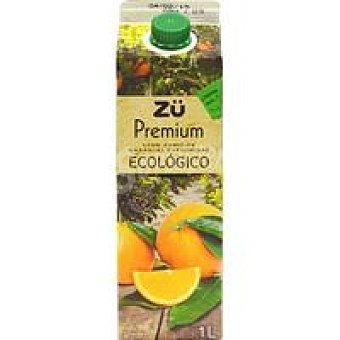 Premium Zumo de naranja ecológica ZÜ Brik 1 litro