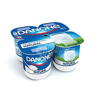 Danone Yogur natural 4 unidades de 125 g