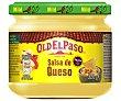 Salsa mejicana suave de queso, pimientos rojo y jalapeño y tomate 320 g Old El Paso