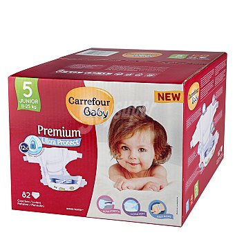 Carrefour Baby Pañal Premium T5 11-25 kg. 82 ud