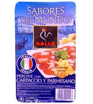 Gallo Pasta fresca Perline con Carpaccio y Parmesano 200 g