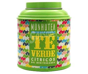 Mushutea Té verde con cítricos del mediterráneo 100 g